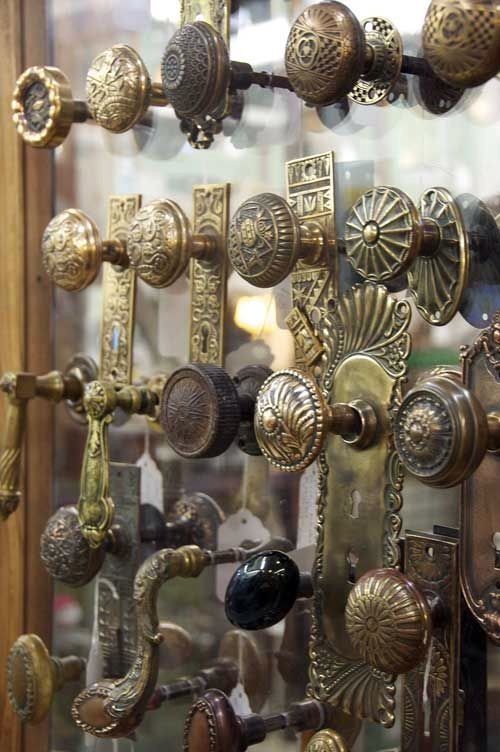 Clearly I Love Antique Doors And Door Details. I Love Door Knobs, Have A  Bunch On An Old Door I Use For A Head Board. The Selection Knocks Me Out.