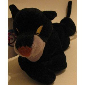 Disney Bean Bag Plush Jungle Book Bagheera 8 @ niftywarehouse.com #NiftyWarehouse #Disney #DisneyMovies #Animated #Film #DisneyFilms #DisneyCartoons #Kids #Cartoons