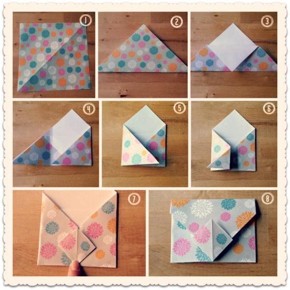 Sobre origami: tutorial!