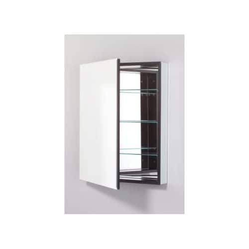 """Robern PLM2430BRE PL 23"""" x 30"""" Frameless Medicine Cabinet Right Hinged with Beveled Mirror and Electrical Outlet ("""