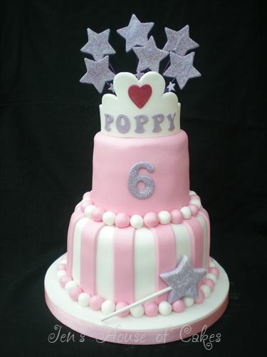 Princess Birthday Cake by Jen's House of Cakes