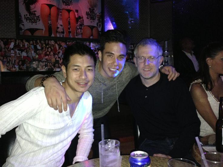 - Good times with good friends    Rod with Apolo and John having dinner in Cabo