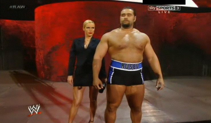 Alexander Rusev at WWE Extreme Rules, Renee Young & ESPN - http://www.wrestlesite.com/wwe/alexander-rusev-wwe-extreme-rules-renee-young-espn/