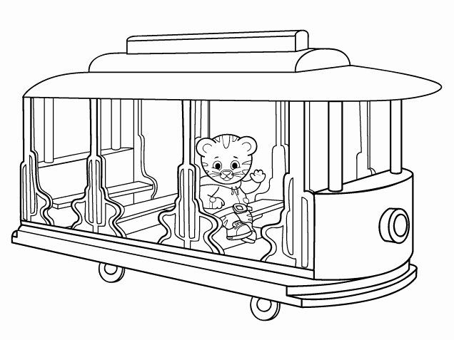 Daniel Tiger Coloring Page Inspirational Daniel Tiger Coloring Pages Best Coloring Pages For Kids In 2020 Daniel Tiger Daniel Tiger Birthday Coloring Pages For Kids