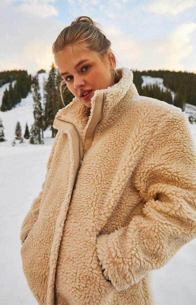 0ed1d359f LA Hearts Oversized Sherpa Jacket | PacSun | Style in 2019 | Jackets ...