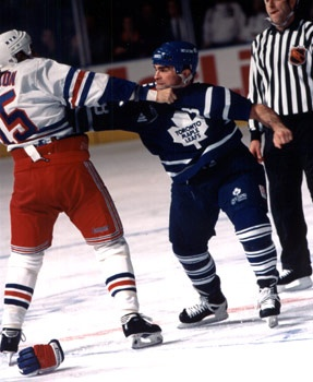 Tie is still regarded as one of the NHL's best fighters