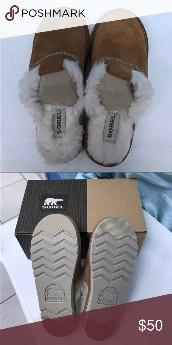 Sorel Slippers Size 6 Nwbox. Never used Sorel Shoes Slippers