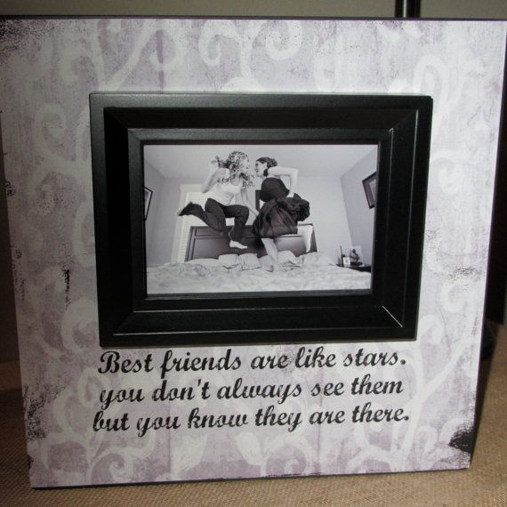 Friendship Picture Frames With Quotes: 17 Best Ideas About Best Friend Picture Frames On
