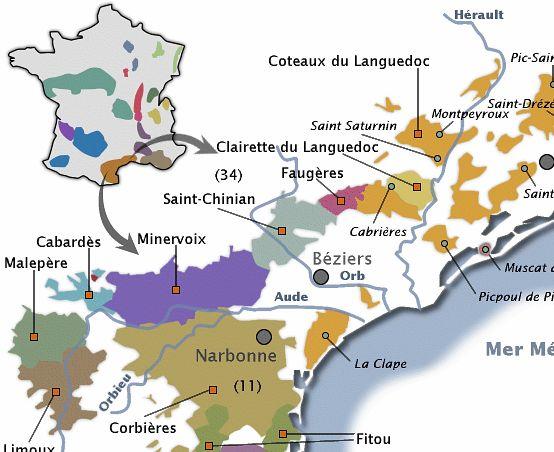Le vignoble Languedocien
