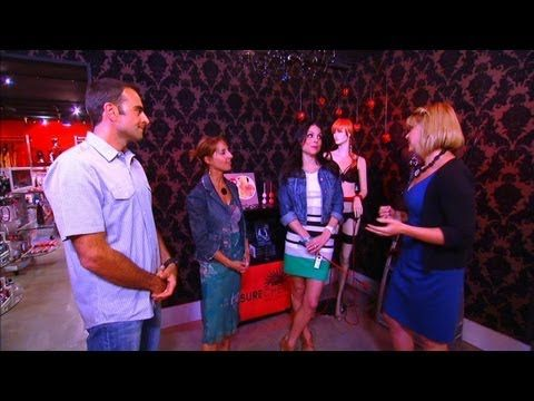 Bethenny Frankel has a new talk show and she recently dropped by The Pleasure Chest.