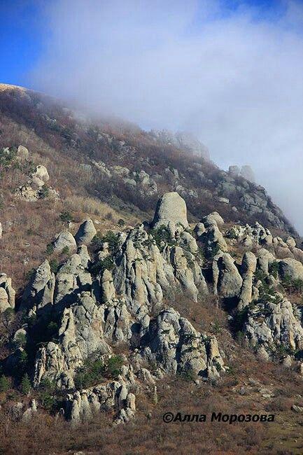 Долина привидений, Демерджи. Крым, Россия