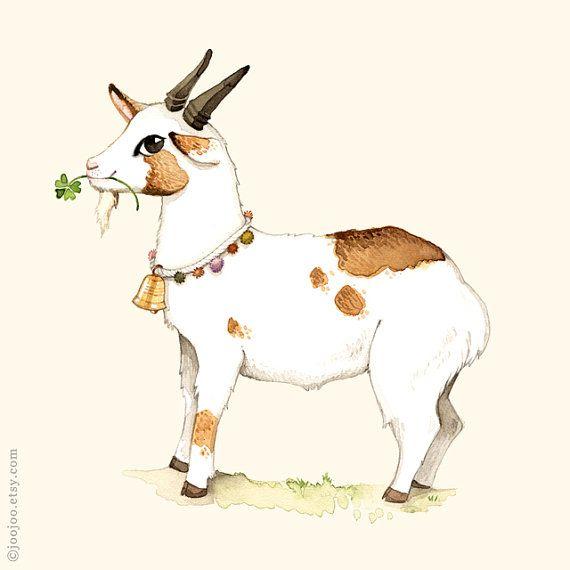 Alphabet poster, Nursery wall art, Animal alphabet print, Kids wall art, Goat print, G is for goat, 8x10, wall art for children on Etsy, $8.00