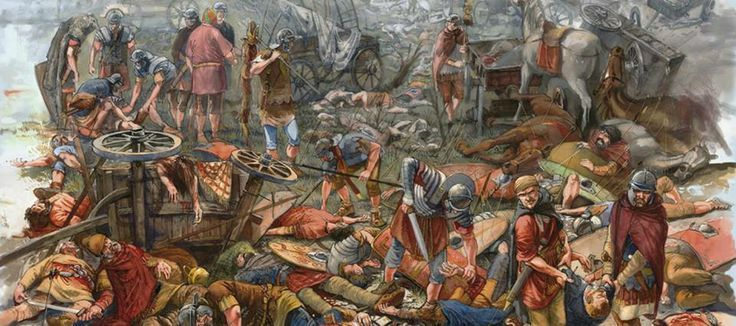 The Aftermath - Dacian warriors defeated by Romans - http://www.inblogg.com/the-aftermath-dacian-warriors-defeated-by-romans/