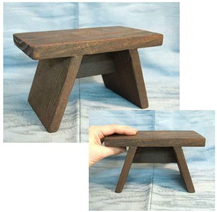 tiny japanese bath stool