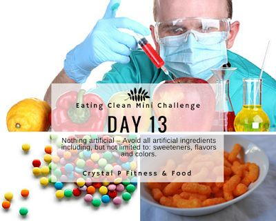 Day 13 - Eating Clean Mini Challenge