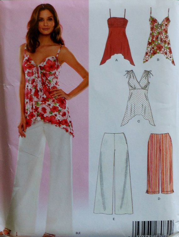 Casual Top and Pants Sewing Pattern