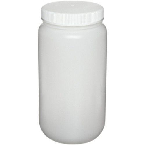 Nalgene Square Large W/M HDPE Bottle, 1 Gallon