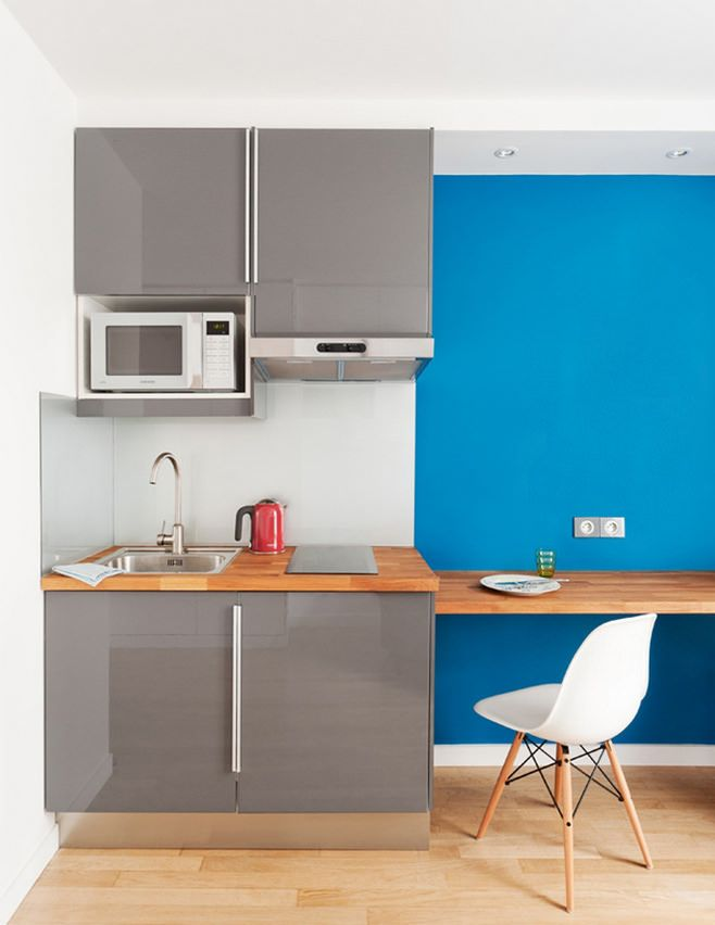 53 best Flat images on Pinterest | Mini kitchen, Small apartments ...