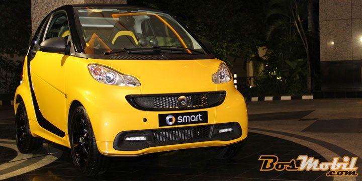 Tampil Berani Dengan Smart Fortwo Cityflame Limited Edition