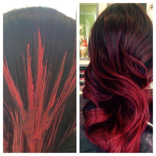 Best 25 red velvet hair color ideas on pinterest velvet red get the look red velvet hair color by dustin stone pmusecretfo Images