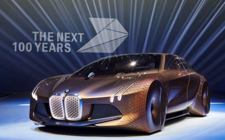 Τα φουτουριστικά οχήματα της BMW δείχνουν το μέλλον