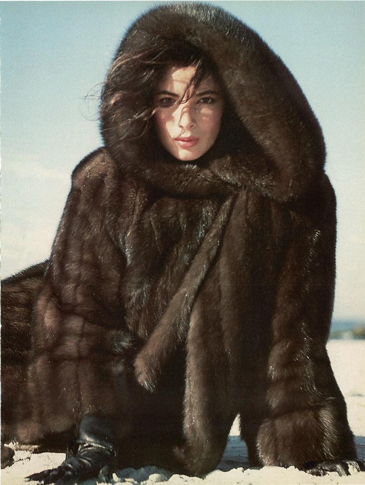 Hooded Sable Fur Coat | Fur Freakin Fablous | Pinterest | Fur coat ...