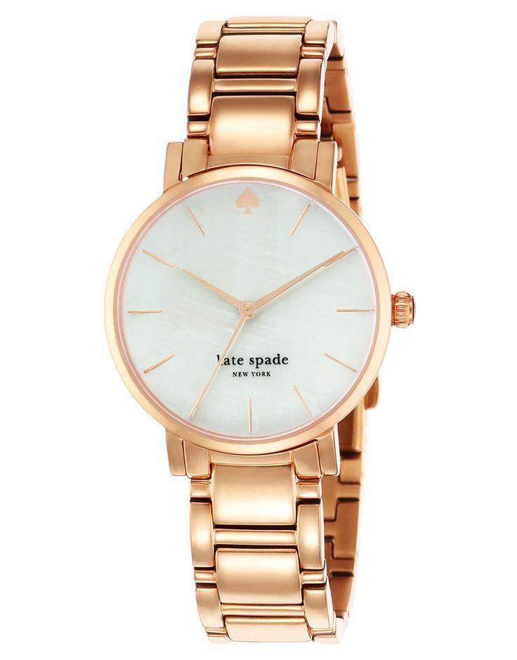 Kate Spade Gramercy Rose Gold Watch