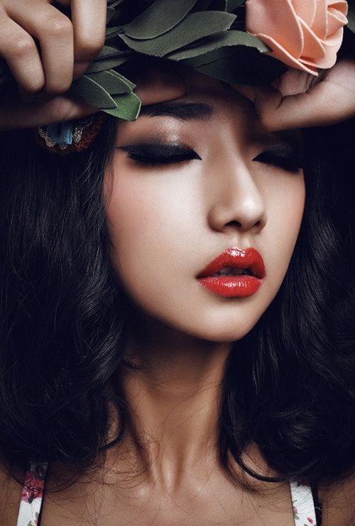 Asian. Close uppp