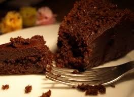 Chocolate coffee cake with EsprestoSA. Ingredients: Make the coffee with 3 capsules of EsprestoSA Ritmo mix with 120g of flour, ¾ teaspoon of baking soda, A pinch of salt, 60g of butter, 65g of sugar, 50g of cane sugar, 2 eggs, 114ml of melted dark chocolate, 2 tablespoons of sour cream, ½ teaspoons of vanilla extract. For the Chocolate Ganache mix 200ml of heavy cream, 168g of bittersweet chocolate finely chopped & 2 tablespoons of butter.