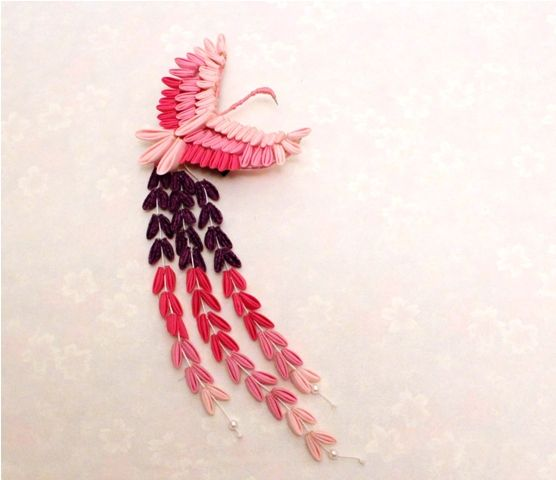 Kanzashi Hair Ornaments   Your work is so interesting and so are you. Please tell us a little ...