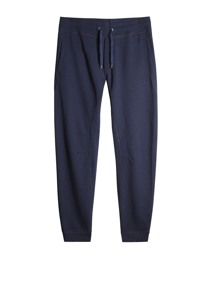 C.P. Company Light Fleece Trousers in Blue