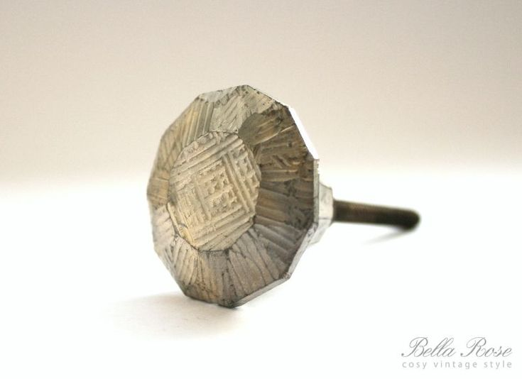 Skleněná úchytka Iron Antik | Bella Rose