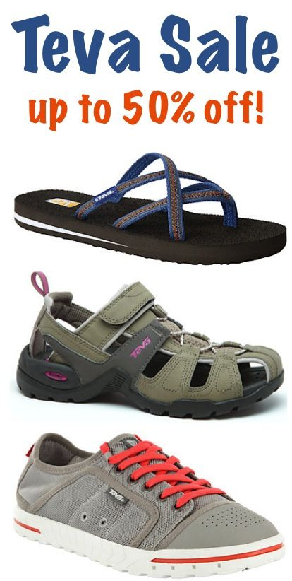 Teva Sale ~ up to 50% off! at TheFrugalGirls.com #TevaSale #BacktoSchool #Sandals