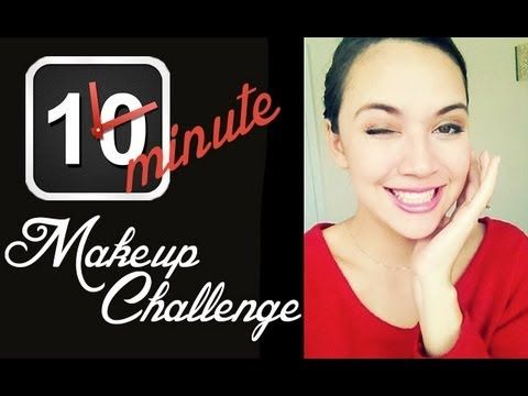 Hi beautiful ladies! This video is a fun 10 min makeup challenge, I tried to do it within 5 minutes but failed miserably. I dare you to try it and let me know in the comments below.  Get the look at http://www.luxuriacosmetics.com