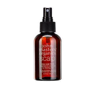 John Masters Organics Deep Scalp Follicle Treatment & Volumizer for Thinning Hair, 125ml