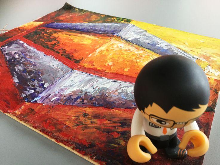 Saludos desde nuestra oficina de Bogotá Colombia. Alex HostDime #Art 💪😎😳