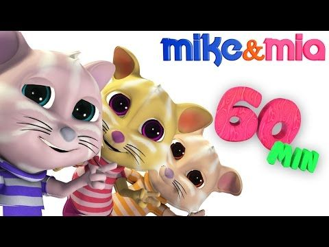 Three Little Kittens | Nursery Rhymes and Kids Songs | Kittens Cat Songs by Mike and Mia - YouTube