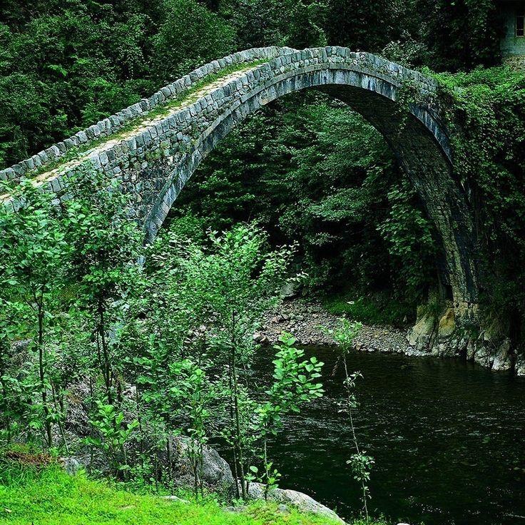 Kemer Bridge, Rize, Turkey