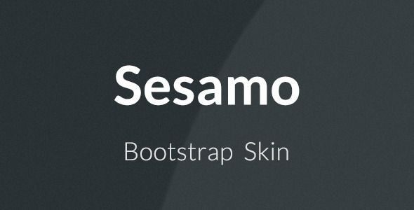 Sesamo can be utilized on any site fabricated or to be assembled with the Bootstrap structure. With simple establishment, simply dropping the skin records in your undertaking organizers, and simple customization because of the LESS documents included and the Online ThemeSwitcher to produce custom topics hues prepared to utilize and without code learning.