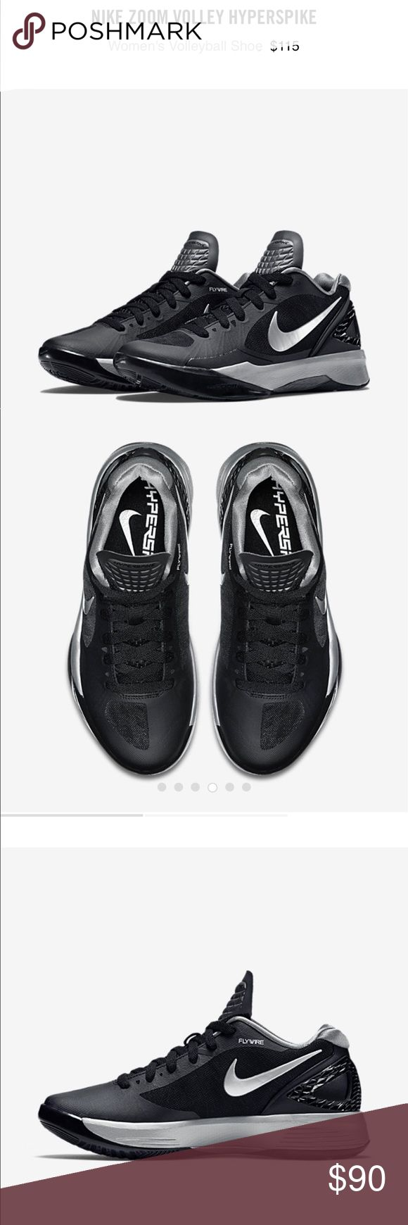 New Black Nike Volleyball Shoes Women39s  Dovalina Builders