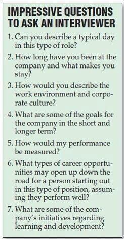 Sample essay questions for job applicants