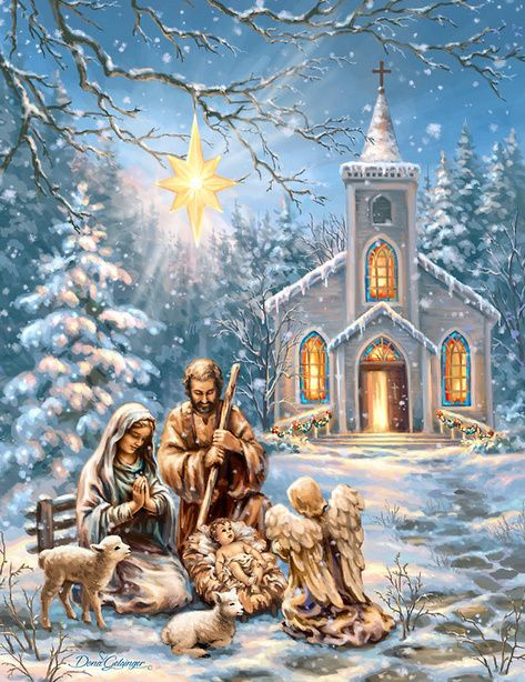 393 best images about christmas scenes on pinterest