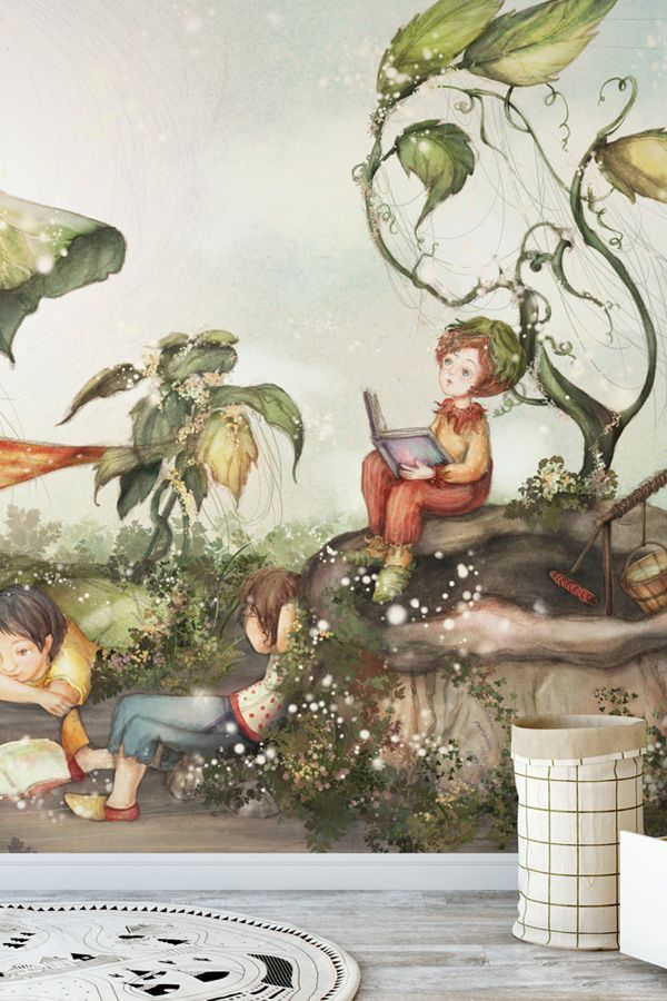 Those Good Old Summer Days Wallpaper Wallsauce Us Wallpaper Mural Wallpaper Mural