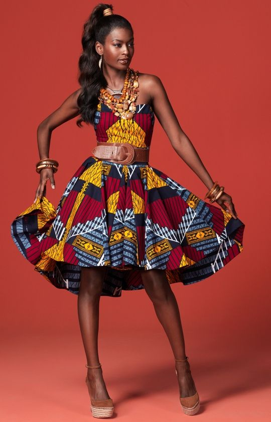 Vlisco dress Collection CELEBRATE <3 <3 <3 <3 for the fabric.