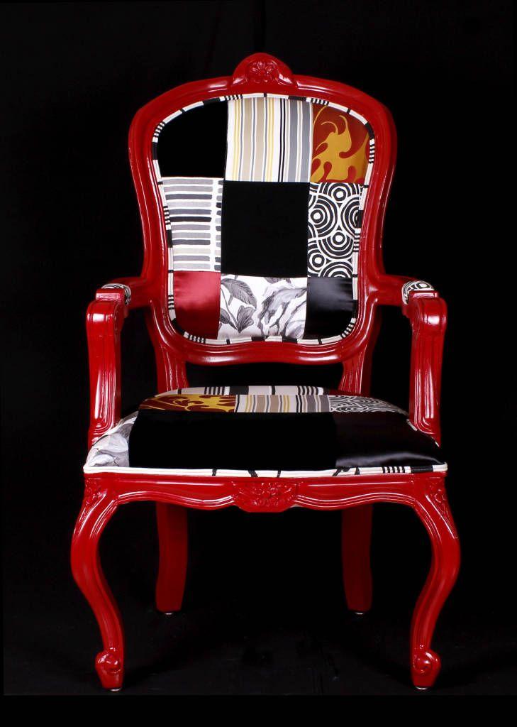 Busca imágenes de diseños de Salas estilo ecléctico}: Silla Estilo Luis XV. Encuentra las mejores fotos para inspirarte y y crear el hogar de tus sueños.