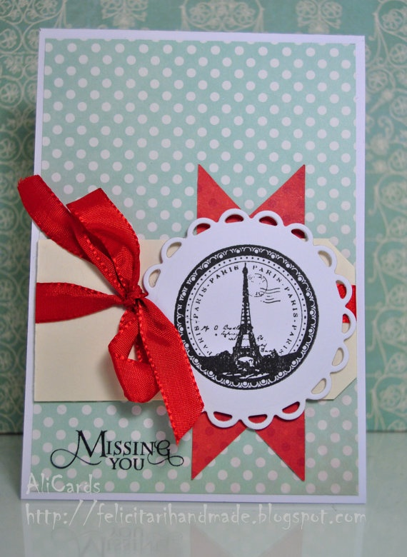 Miss you by AliCards on Etsy, $5.00