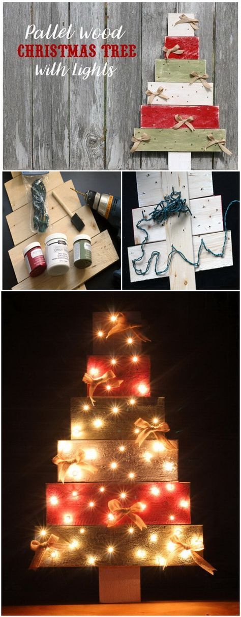 Best 25+ Pallet wood christmas ideas on Pinterest