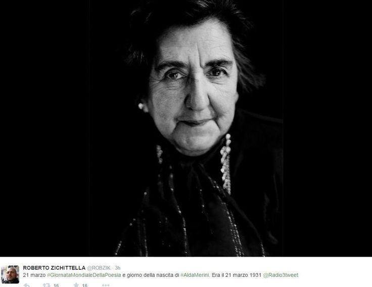 Giornata mondiale della poesia, l'omaggio di Twitter ad Alda Merini (e non solo) - Corriere.it
