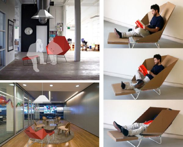 If You Are Looking For Some Personal Moments Away From The Busy Work In  Your Office, Then This Prism Chair Is Up For You. It Is Manufactured As A  Reclining ...