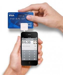 New Square Reader Made for Magnetic-Stripe Cards For iPhone, iPad, or Android